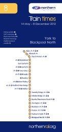 York and Blackpool - Northern Rail