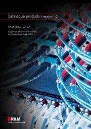Data Center Catalogue produits / version 1.0