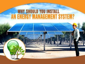 Benefits of Energy Monitoring System