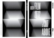 PRODUCTION CATALOGUE - Irish Film Board