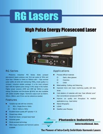 Optical Specifications - Laser Lines Ltd.