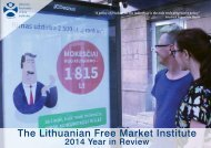 The Lithuanian Free Market Institute