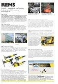 Catalog scule pentru prelucrarea ţevilor REMS - Page 2