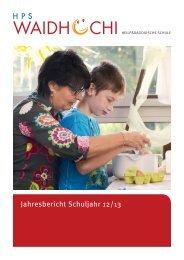 Jahresbericht Waidhoechi 2012