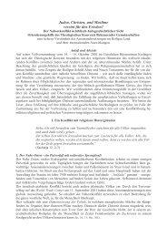 Juden, Christen, und Muslime vereint für den Frieden - Institut Diakrisis