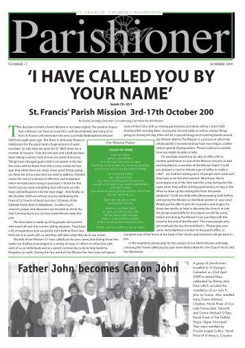 The Parishioner - Edition 17