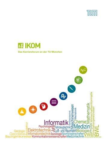 IKOM Katalog 2015 - Informationen für Studierende