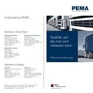 Qualität, auf die man sich verlassen kann - PEMA GmbH