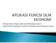 Pajak dan Subsidi - Agus Sukoco, ST, MM.