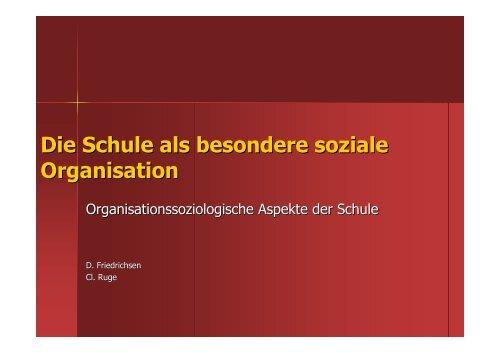 Was ist eine Organisation?