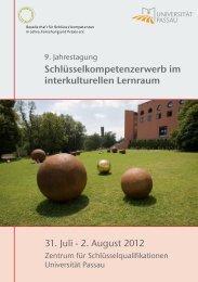 Vorwort - Gesellschaft für Schlüsselkompetenzen in Lehre ...