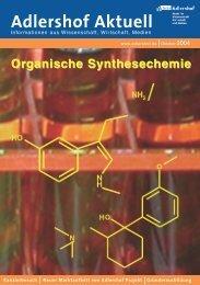 Organische Synthesechemie Adlershof Aktuell