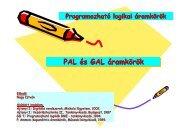 PAL és GAL áramkörök PAL és GAL áramkörök