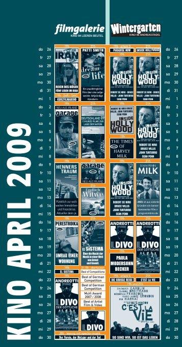 kino april 2009 - Filmgalerie
