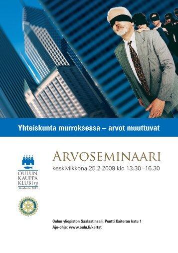 Arvoseminaari - Kotisivut.com