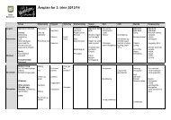 Årsplan for 3. trinn 2013/14 - Asker kommune