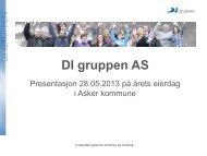 DI gruppen Arbeidsmarkedsbedrift i Asker og ... - Asker kommune