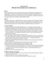 Historic Preservation Tax Credit Survey - State Historical Society of ...