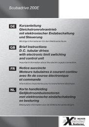 Scubadrive 200E - Becker-Antriebe