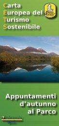 Invito FORUM - Parco Nazionale d'Abruzzo Lazio e Molise