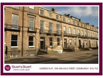 garden flat, 59a melville street, edinburgh eh3 7hl - Stuart & Stuart