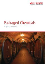 Packaged Chemicals - Sulphur Dioxide