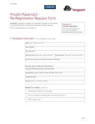 Private Placement Re-Registration Request Form