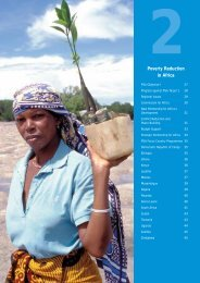 Poverty Reduction in Africa - BVSDE
