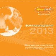 Jahr 2013 Download - Pflegeleicht Akademie Logo