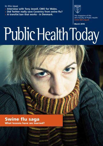 FINAL_Jan 10.qxd - UK Faculty of Public Health