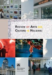 REVIEW OF ARTS AND CULTURE IN HELSINKI