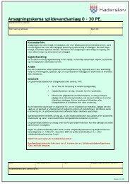 Ansøg om tilladelse til private spildevandsanlæg