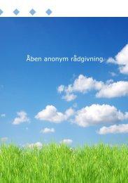 Åben anonym rådgivning - Haderslev Kommune