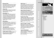 Kursplan PDF - studio edith wittkamp