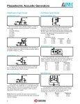 AVX Piezoelectric Acoustic Generators Catalog - Page 7