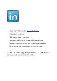 LinkedIn - Oslo Vest Rotary Klubb