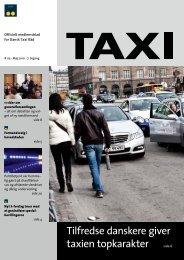 Tilfredse danskere giver taxien topkarakter side 6 - Dansk Taxi Råd