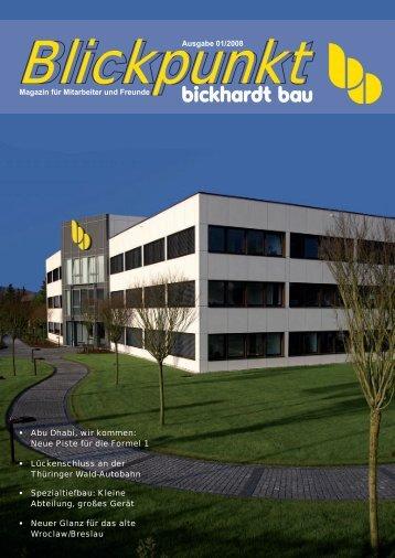 Großprojekte - Bickhardt Bau AG