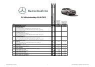 GL VAN ekstraudstyr 01.06.2013 - Mercedes-Benz Danmark