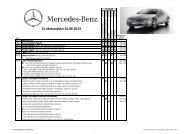 CL ekstraudstyr 01.06.2013 - Mercedes-Benz Danmark
