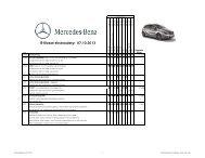 B-Klasse ekstraudstyr 01.06.2013 - Mercedes-Benz Danmark