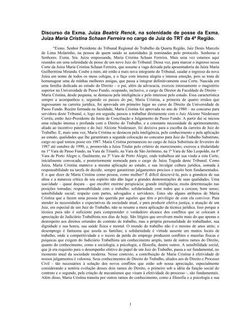 ata nº 01/2000 de sessão extraordinária e plenária do tribunal