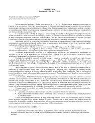 Totalurile activităţii de studii în anul universitar 2008/2009 şi sarcini ...