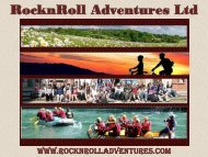 Awesome School Trip To France - RocknRoll Adventure