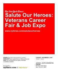 Salute Our Heroes: Veterans Career Fair & Job Expo
