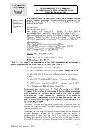 Délibération n° 2013-IX- 10 OBJET : Prescription d'une modification ...