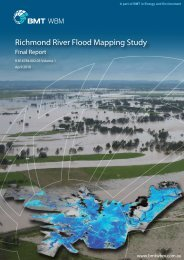 Richmond River Flood Mapping Study Volume 1 Final Report
