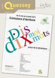 Juin 2013 magazine n°43 - Quessoy