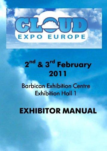 2 & 3 February 2011 EXHIBITOR MANUAL - Hands.com