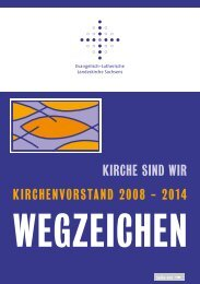 Wegzeichen - Evangelischen Erwachsenenbildung Sachsen